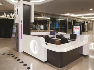 Karrinyup Customer Service Counter by West Coast Shopfitting