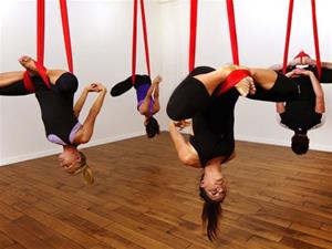 AntiGravity Pilates - the next big thing for Physical and Mental health